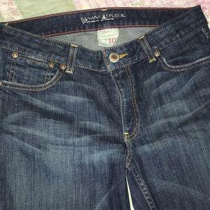 Banana Republic 10/32 L Jeans 98% Cotton GUC CUTE